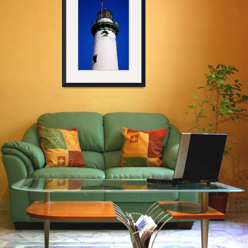 """""""Lighthouse - Presque Isle, Michigan 2010""""  (2010) by Ffooter"""