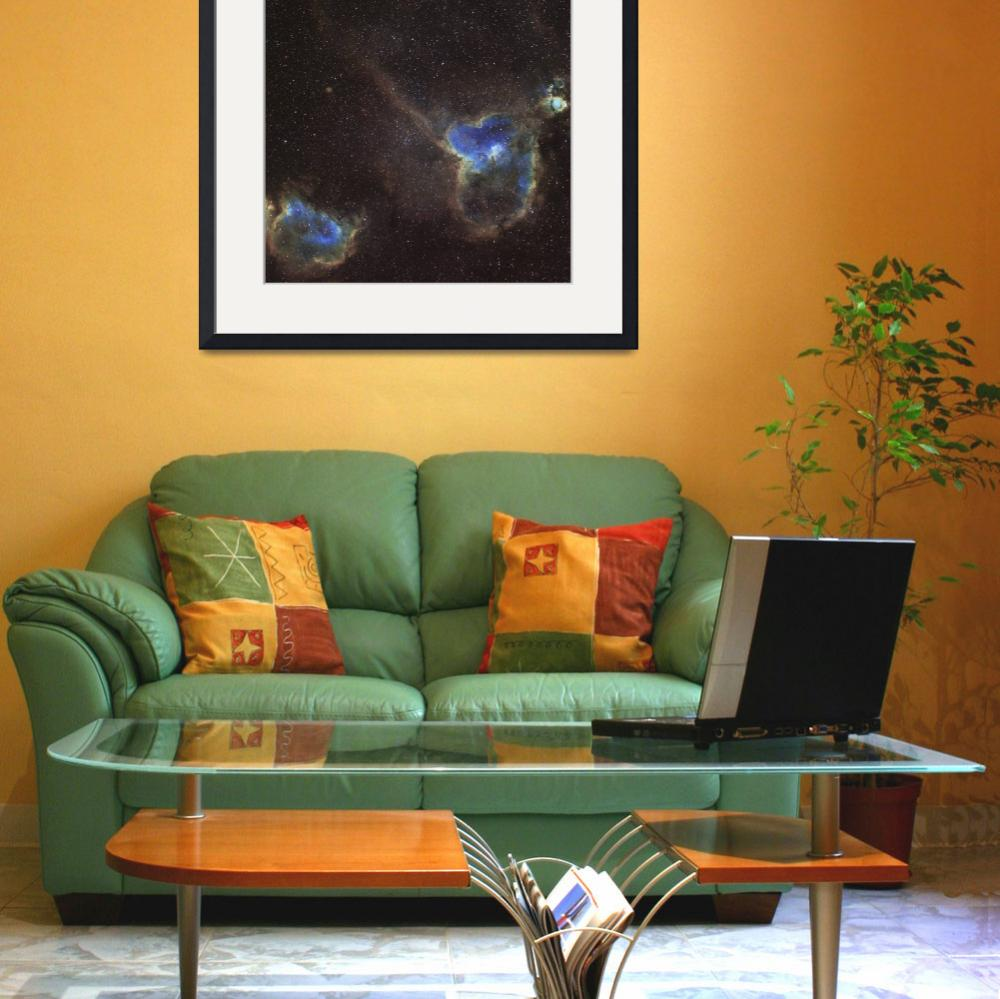 """""""The Heart and Soul Nebula&quot  by stocktrekimages"""