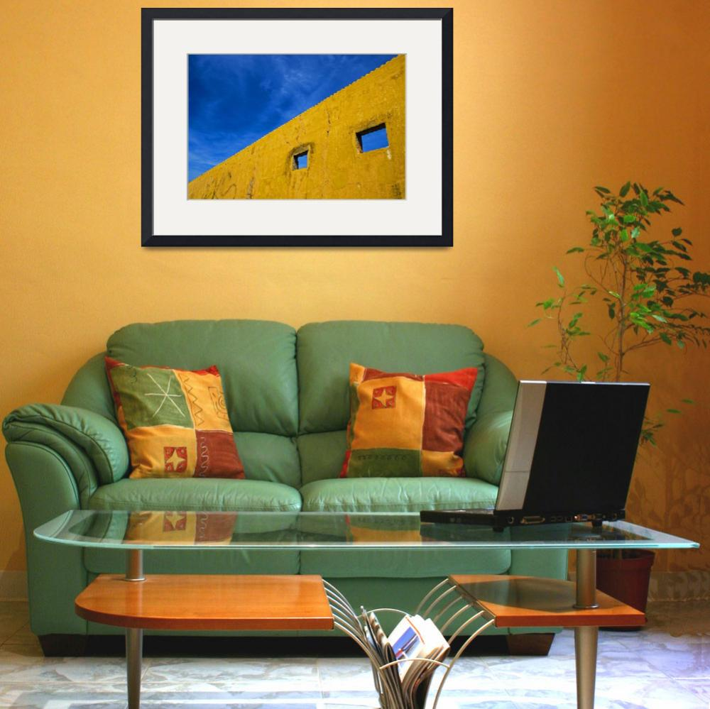 """""""Blue and Yellow&quot  (2008) by AnaOmelete"""