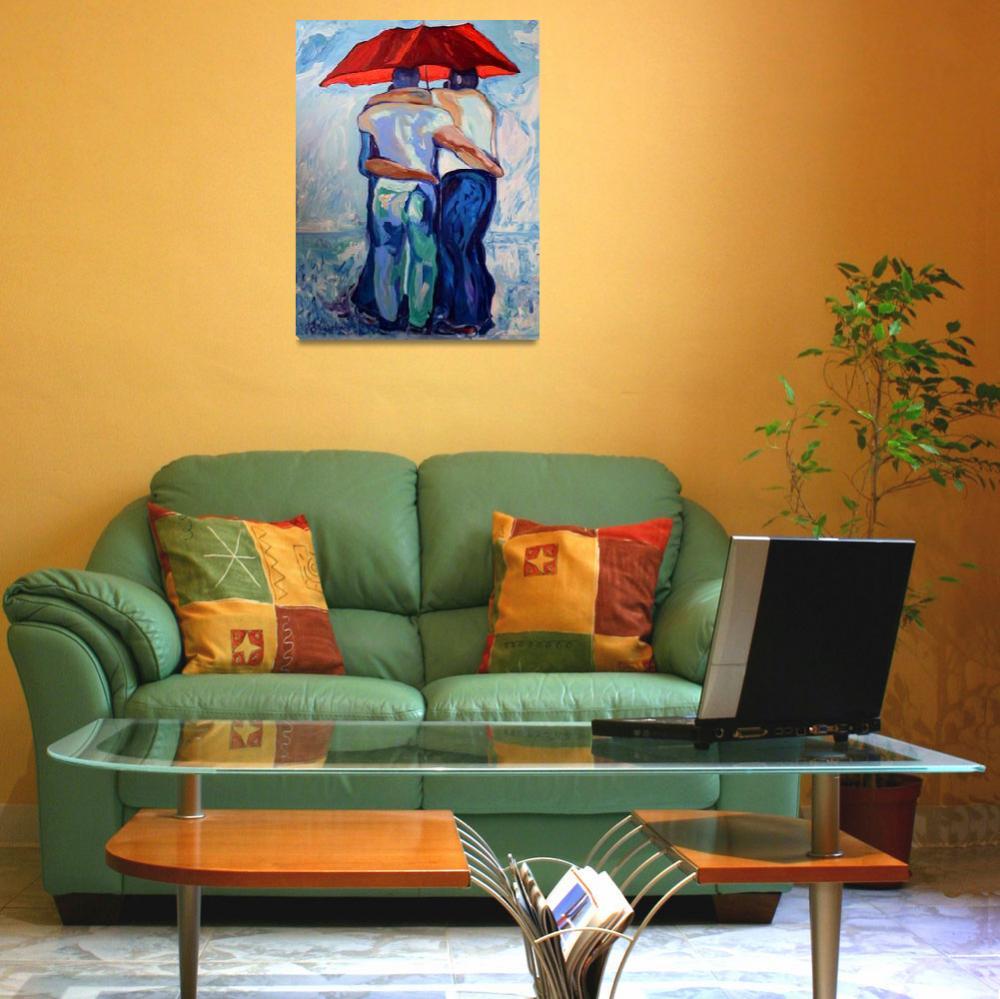 """Red Umbrella Rainbears""  (2007) by RDRiccoboni"