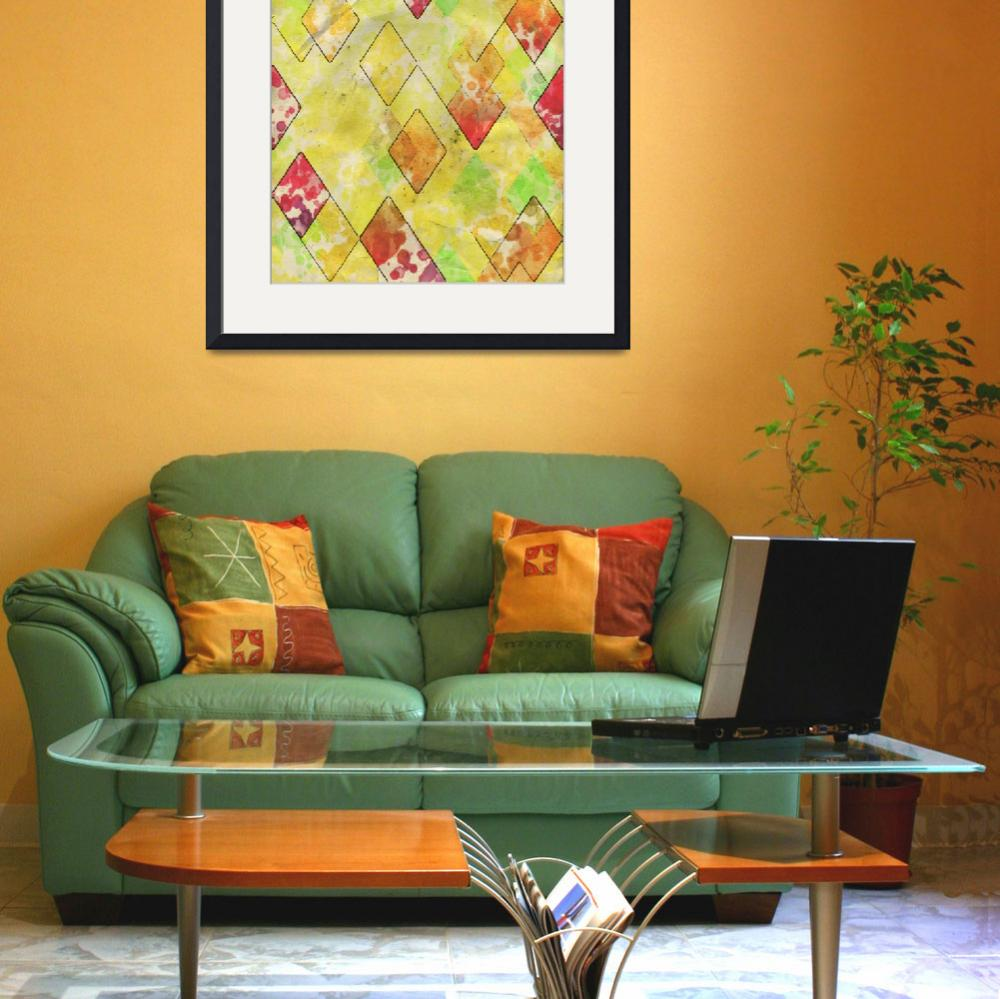 """""""Geometric Color Shape III&quot  by Aneri"""
