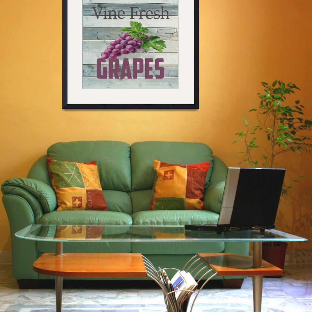 """""""VINE FRESH GRAPES&quot  (2018) by HerbDickinson"""