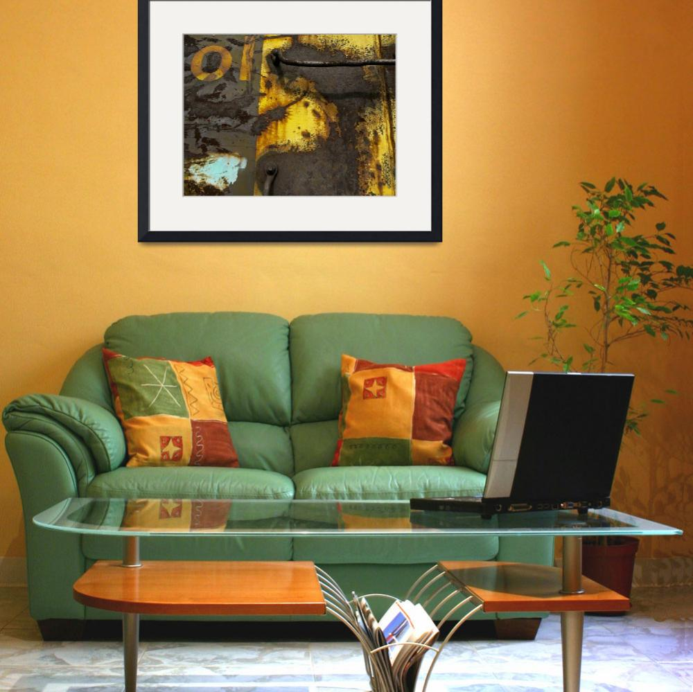 """""""Yellow Rust Explosion #2&quot  (2008) by KilbyCreative"""