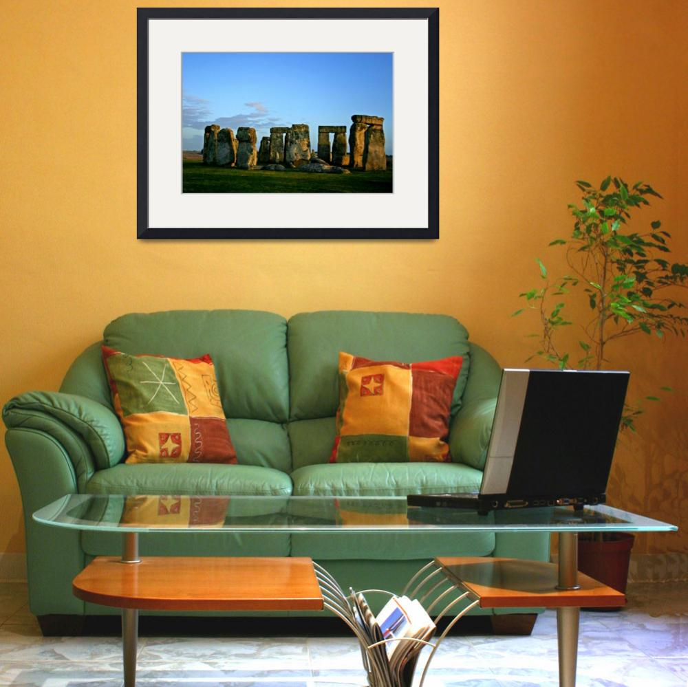 """Stonehenge at Sunset""  (2005) by bcgphoto"