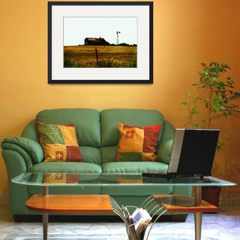 """Oklahoma Homestead&quot  (2008) by ArtWyrks"