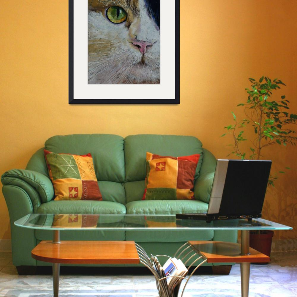 """""""Calico Cat&quot  by creese"""