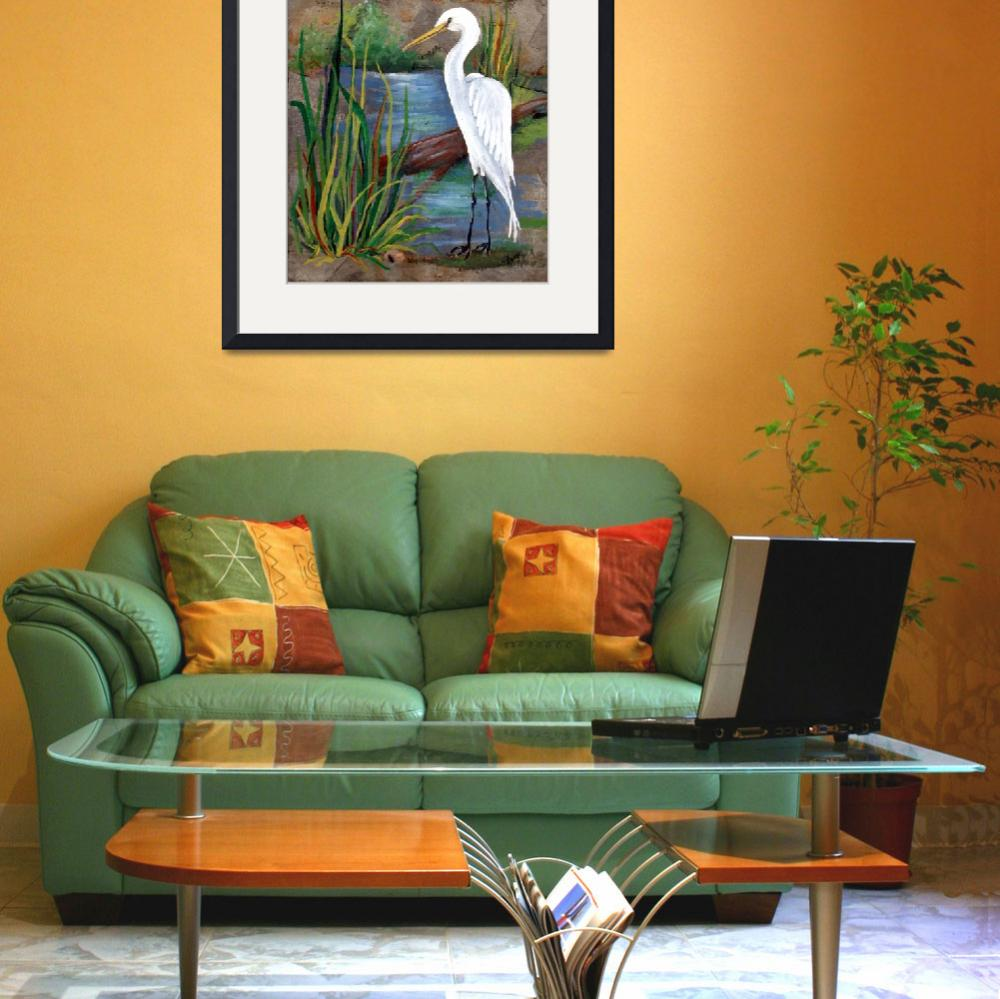 """""""EgretSlate600&quot  by creativemoods"""