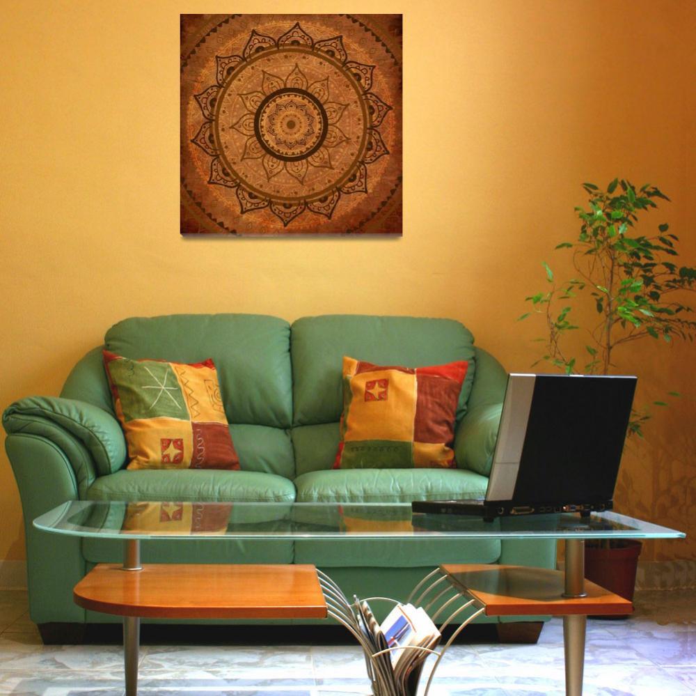 """Mandala. Hand drawn Ethnic vintage pattern.&quot  by katyau"