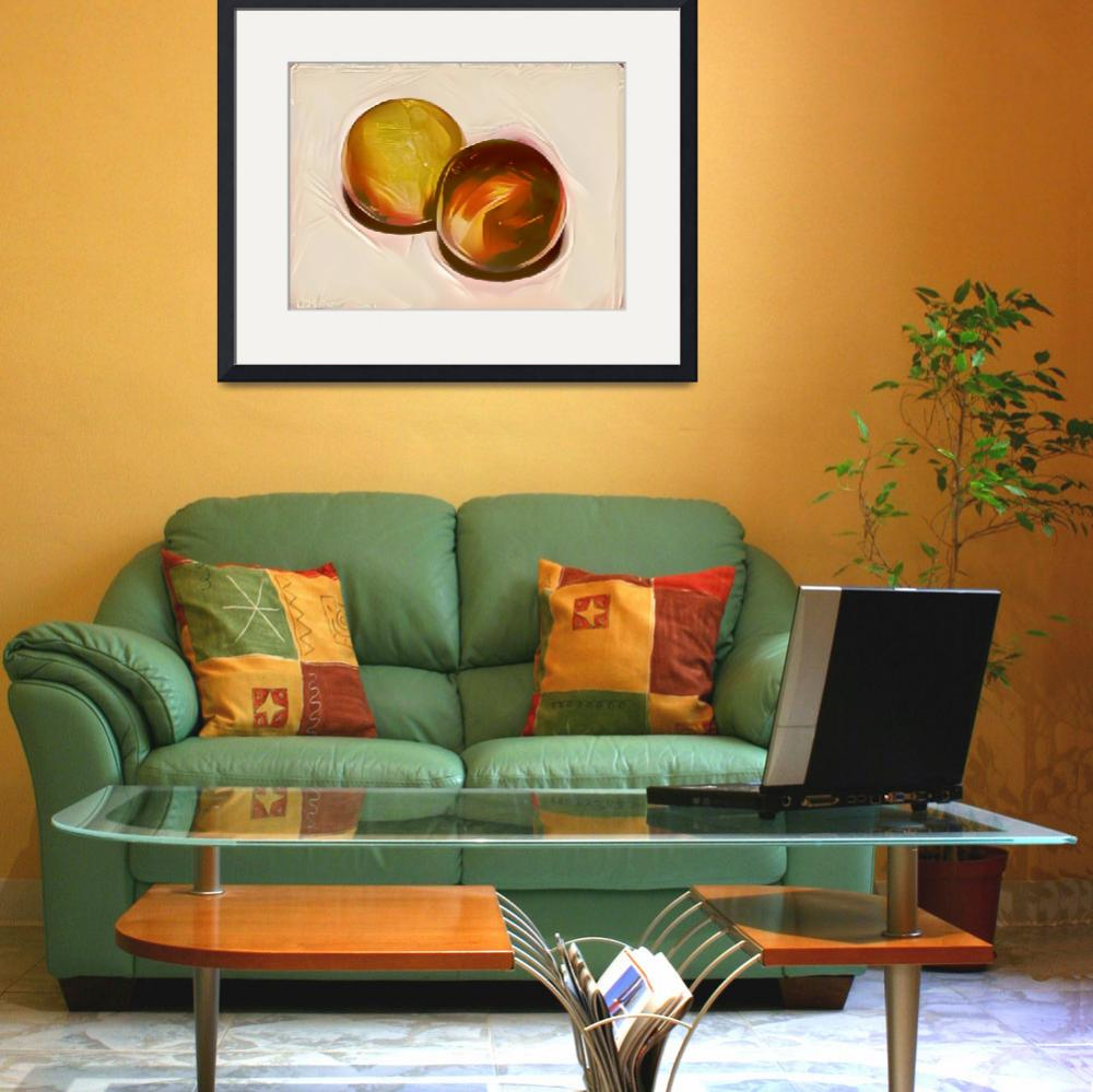 """""""Amber spheres""""  (2017) by Parushin"""