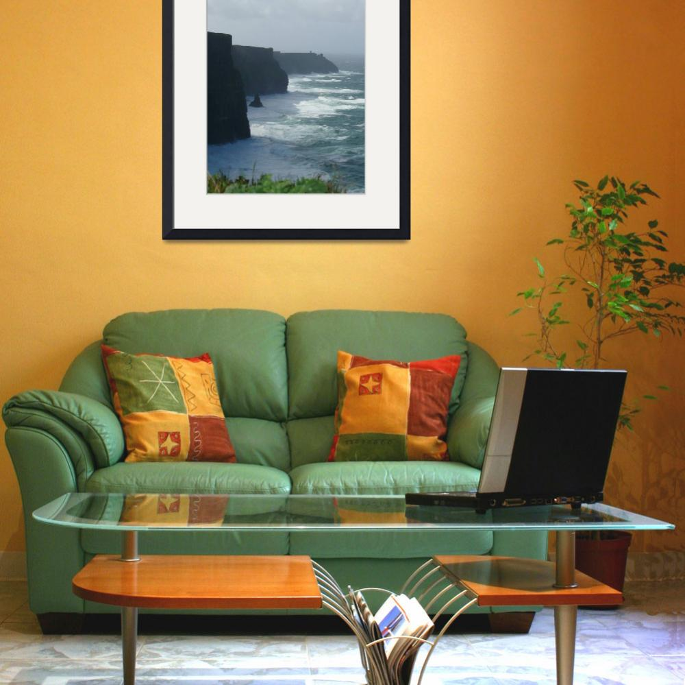 """""""Cliffs of Moher&quot  (2007) by Sawrah"""