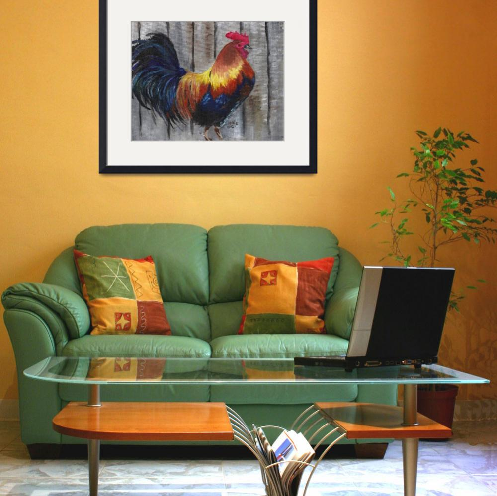 """""""Rooster&quot  (2013) by ARTistic_Anne"""