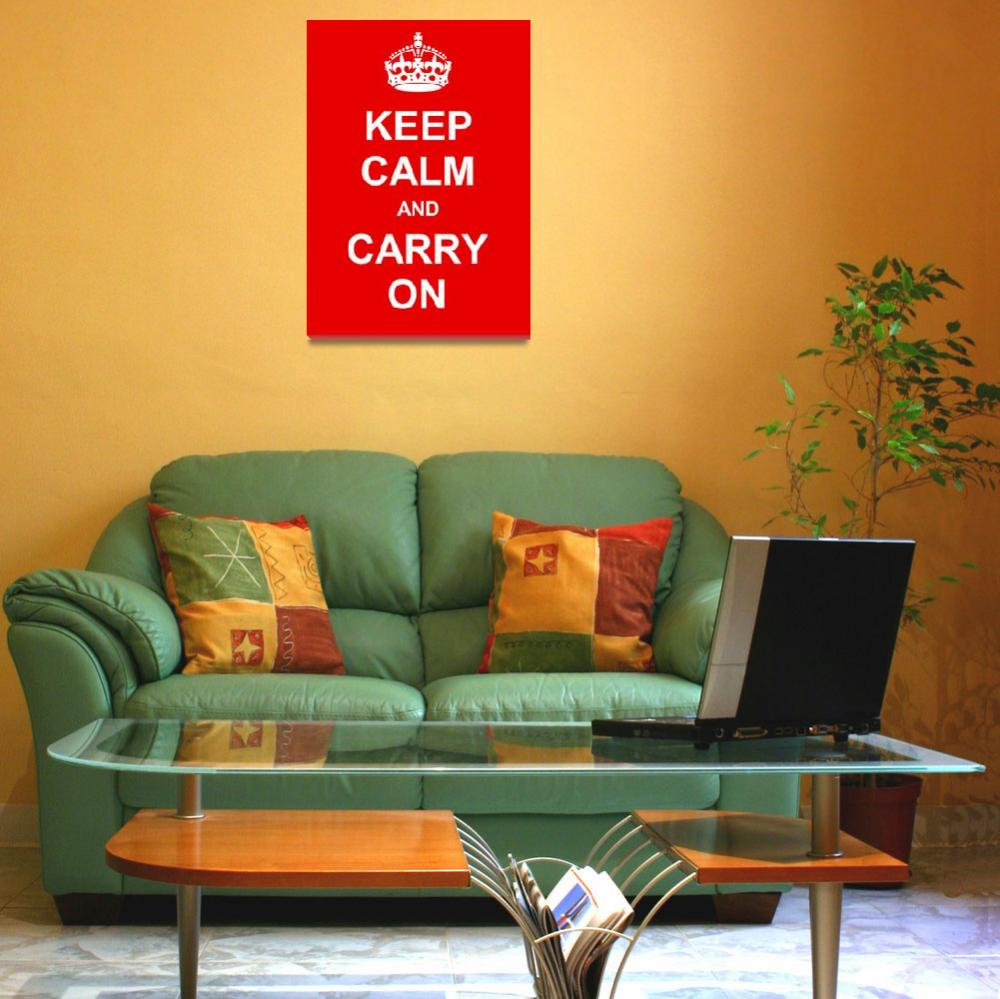 """""""Keep Calm and Carry On&quot  by Prawny"""