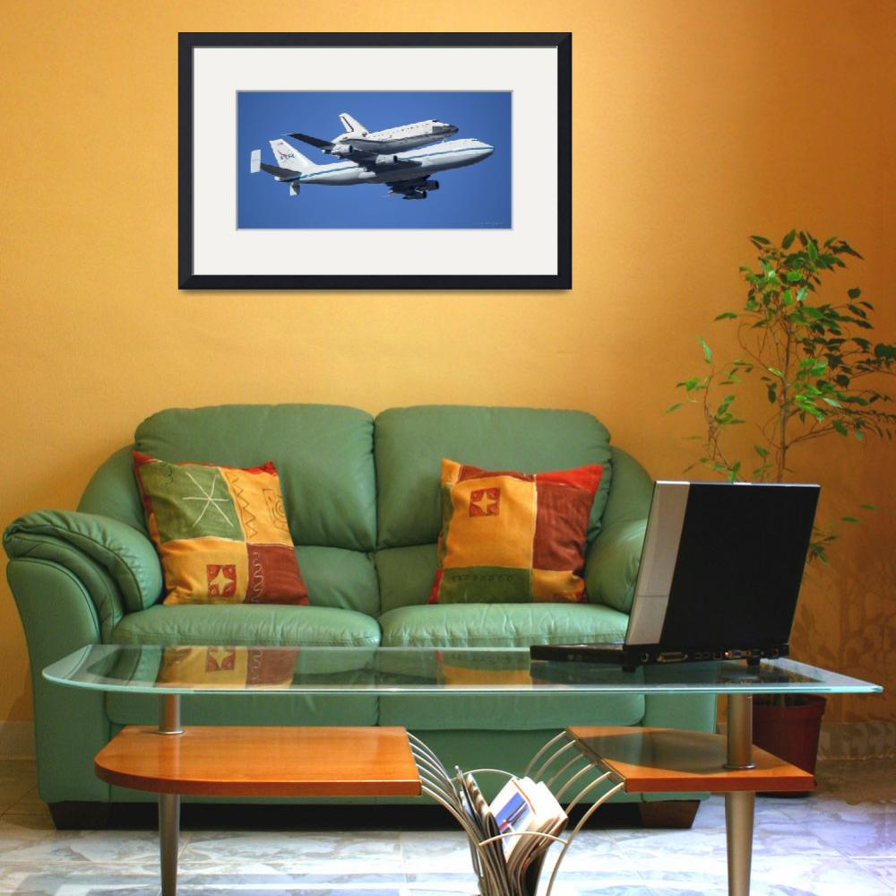 """""""Space Shuttle Endeavor ferry flight to LA (3)&quot  (2012) by markeloperphotography"""