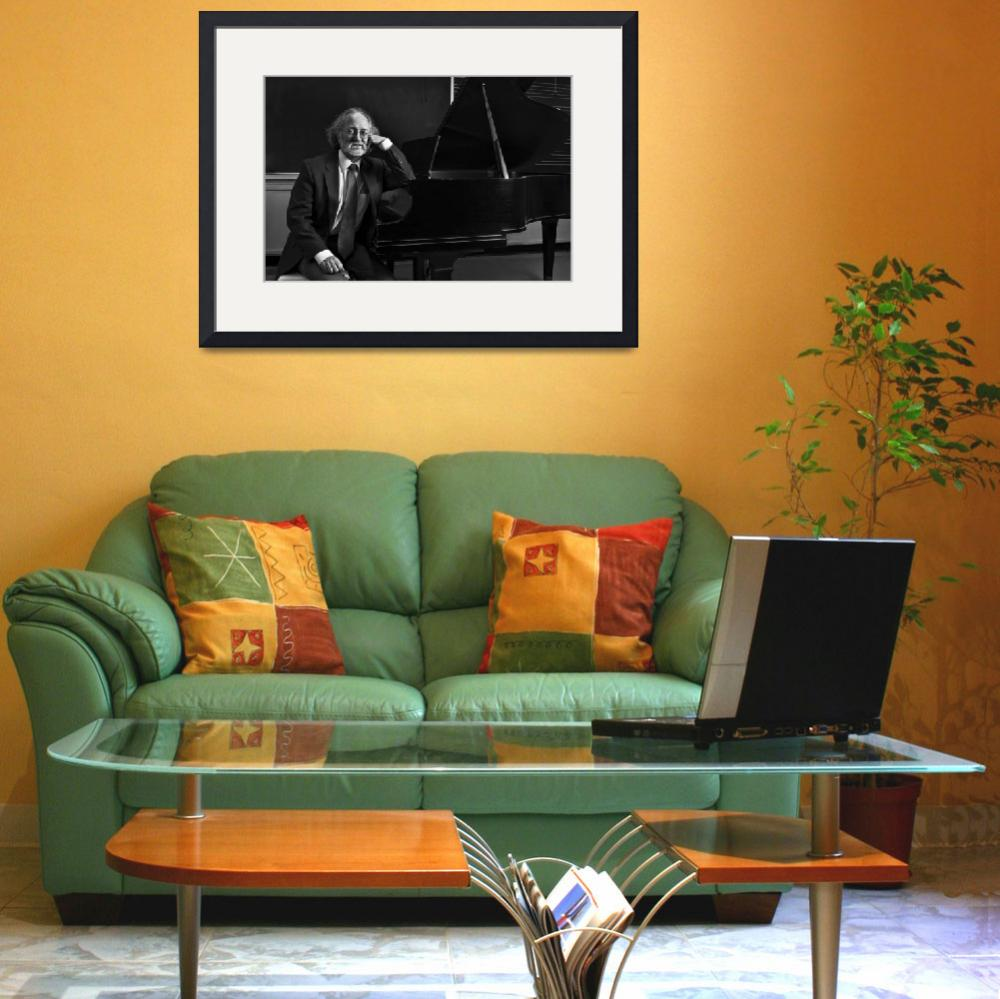 """""""Portrait of a Composer&quot  (2009) by GregoryJPhoto"""