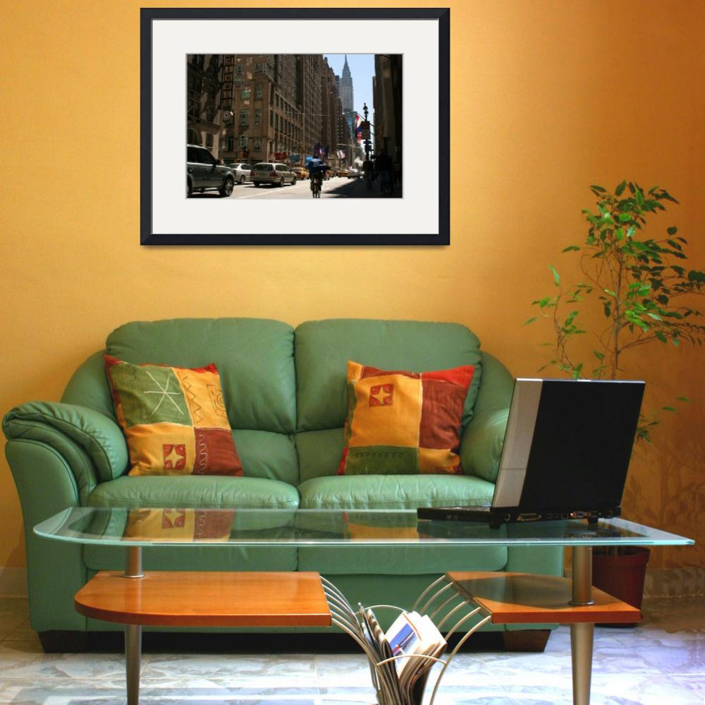 """""""New york City Street&quot  (2007) by tangerinecafe"""