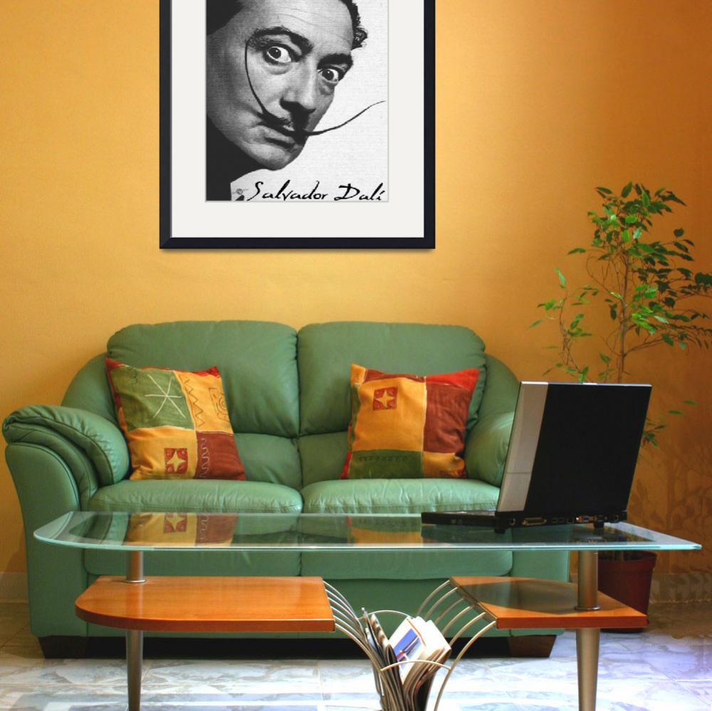 """""""Salvador Dali Realistic Painting With Signature In&quot  (2017) by RubinoFineArt"""