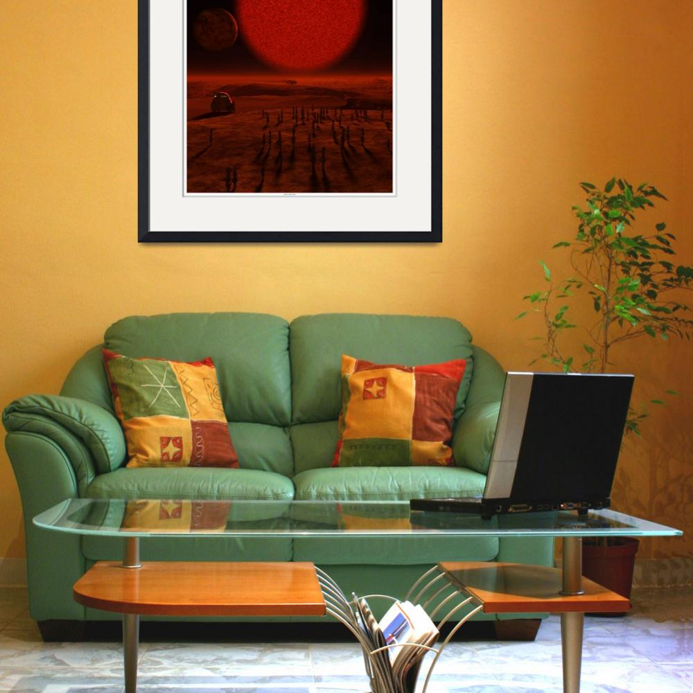 """""""Under The Brown Dwarf&quot  (2011) by nimos"""