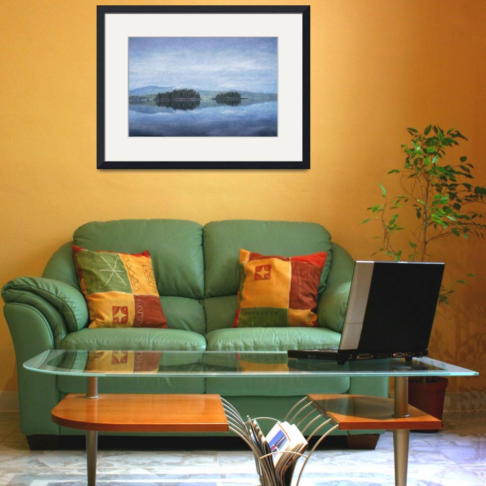 """""""Photo Painting of Sumner Strait, Alaska&quot  (2014) by SederquistPhotography"""