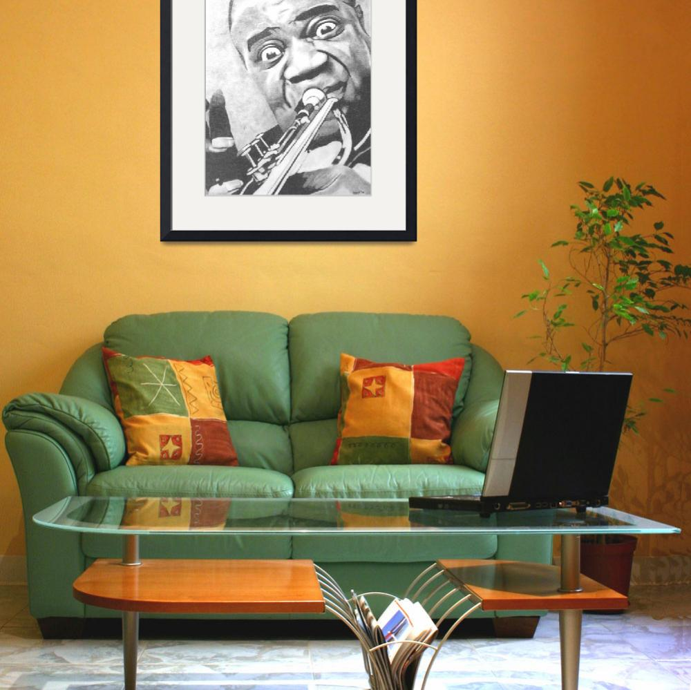 """Louis Armstrong&quot  (2006) by ippolito"