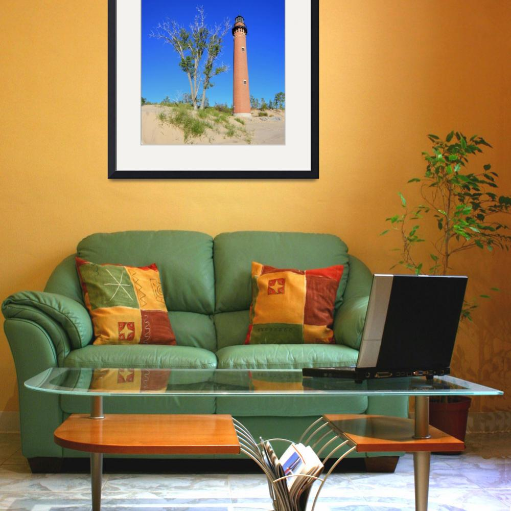 """""""Little Sable Lighthouse&quot  by North22Gallery"""