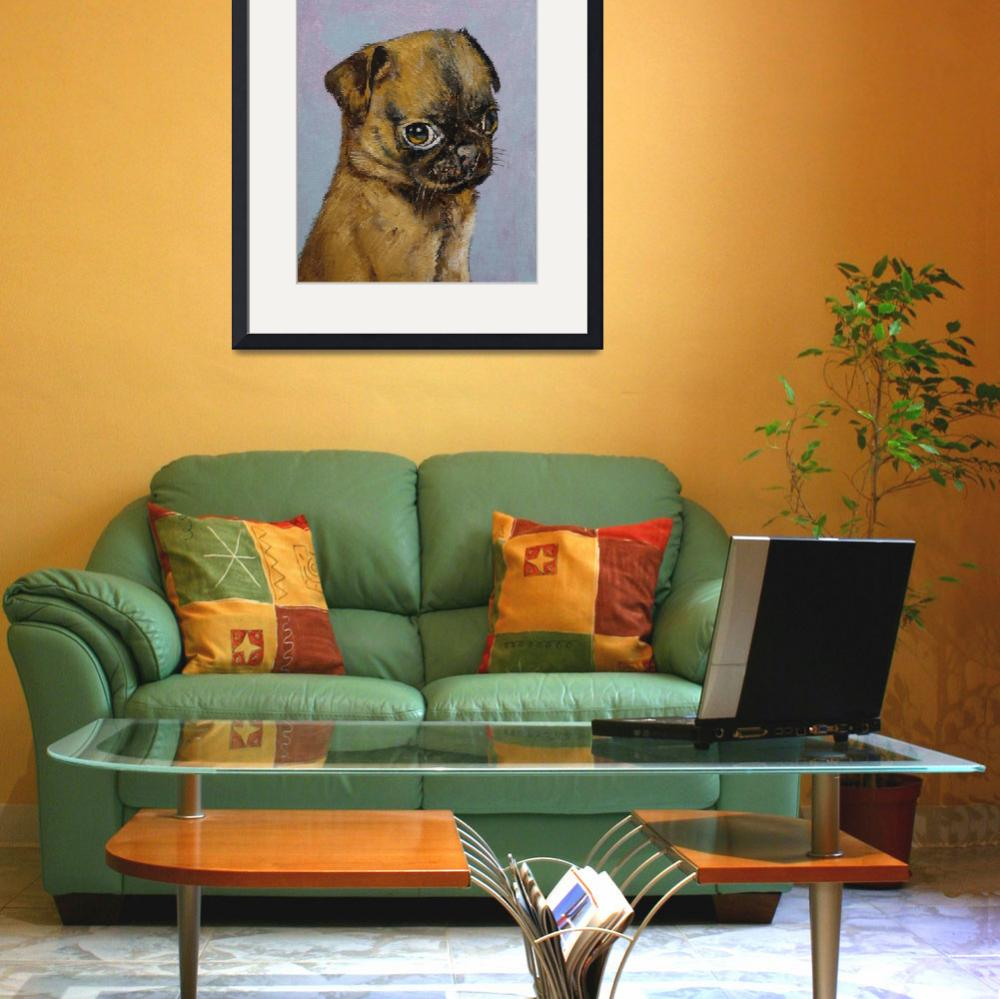"""""""Pug Puppy&quot  by creese"""