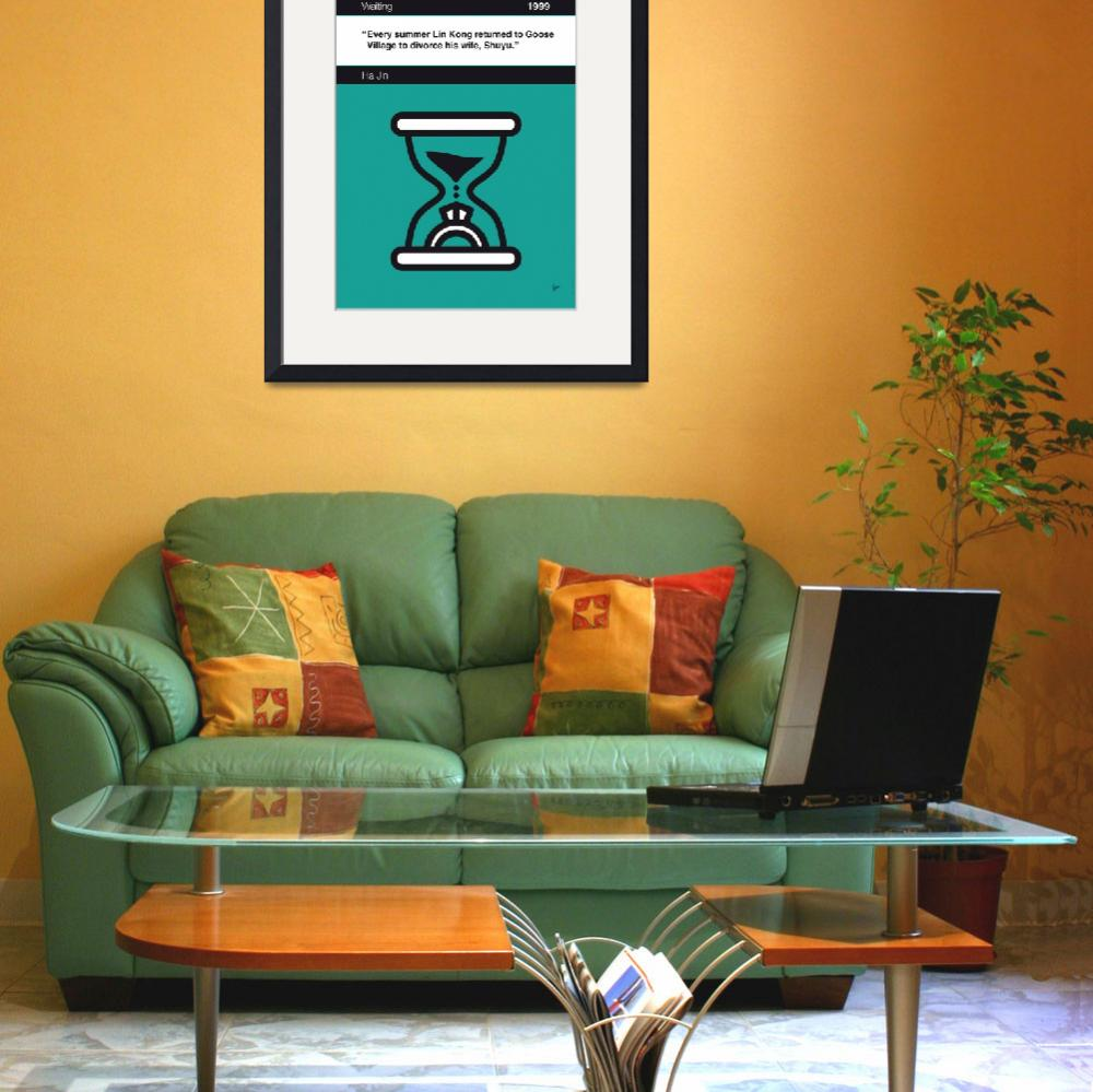 """""""No029-MY-Waiting-Book-Icon-poster&quot  by Chungkong"""