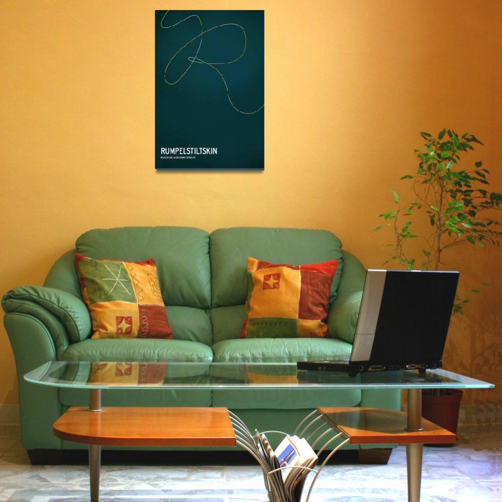 """Rumpelstiltskin&quot  (2010) by squareinchdesign"