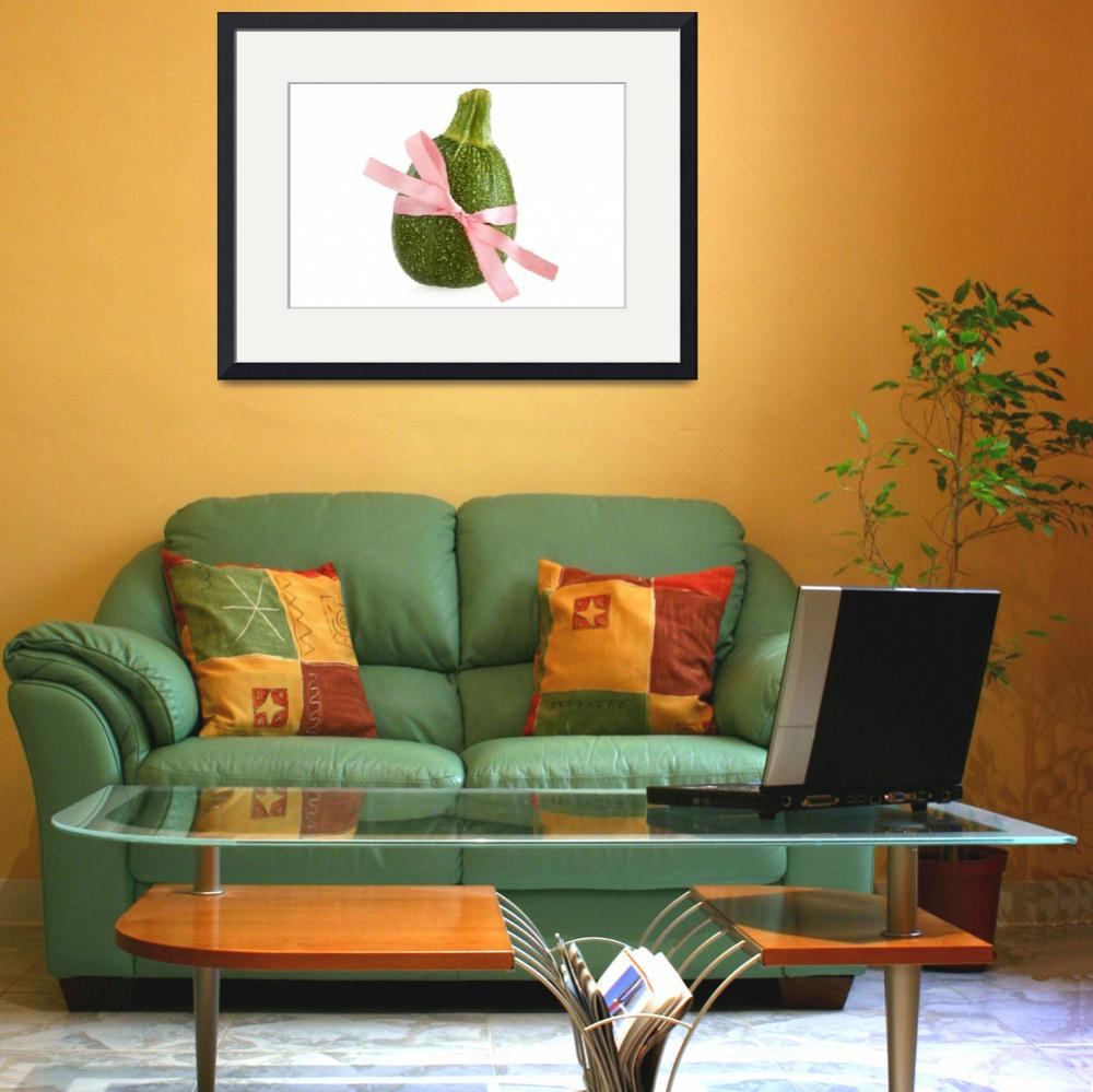 """""""Ball Zucchini&quot  (2011) by shopartgallery"""
