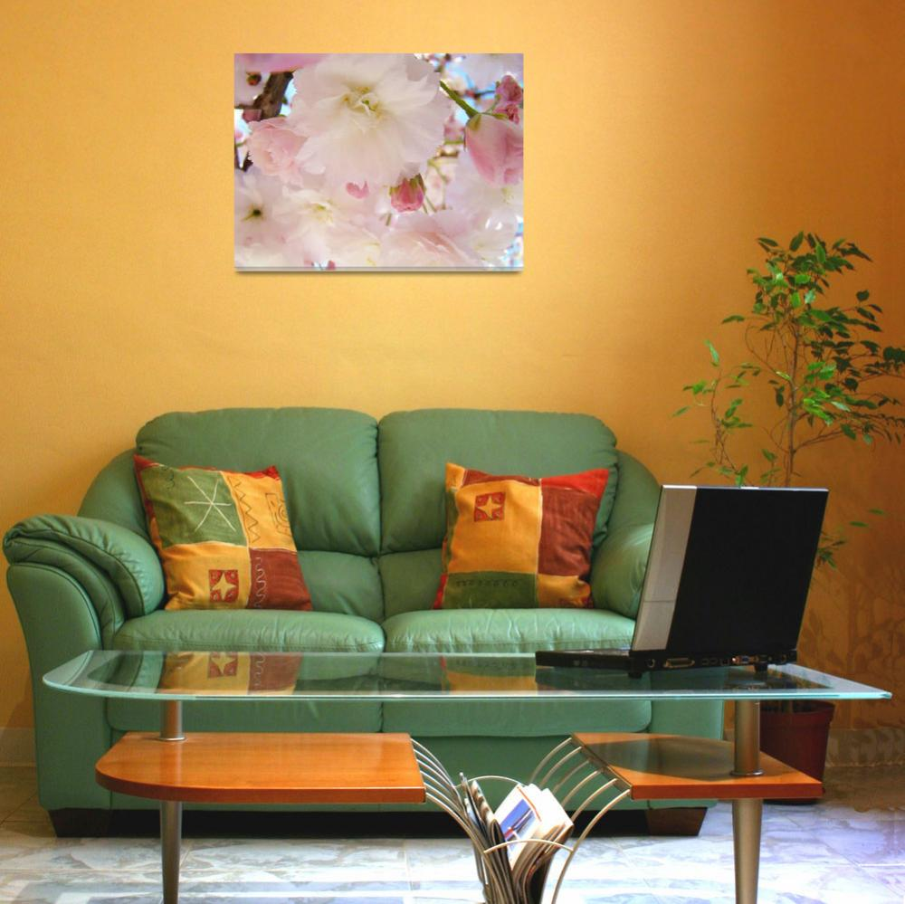"""""""PINK BLOSSOMS 51 Spring Tree Blossoms Art Prints""""  (2009) by BasleeTroutman"""