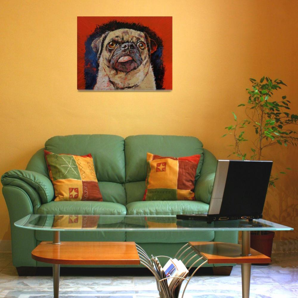 """Pug Portrait&quot  by creese"