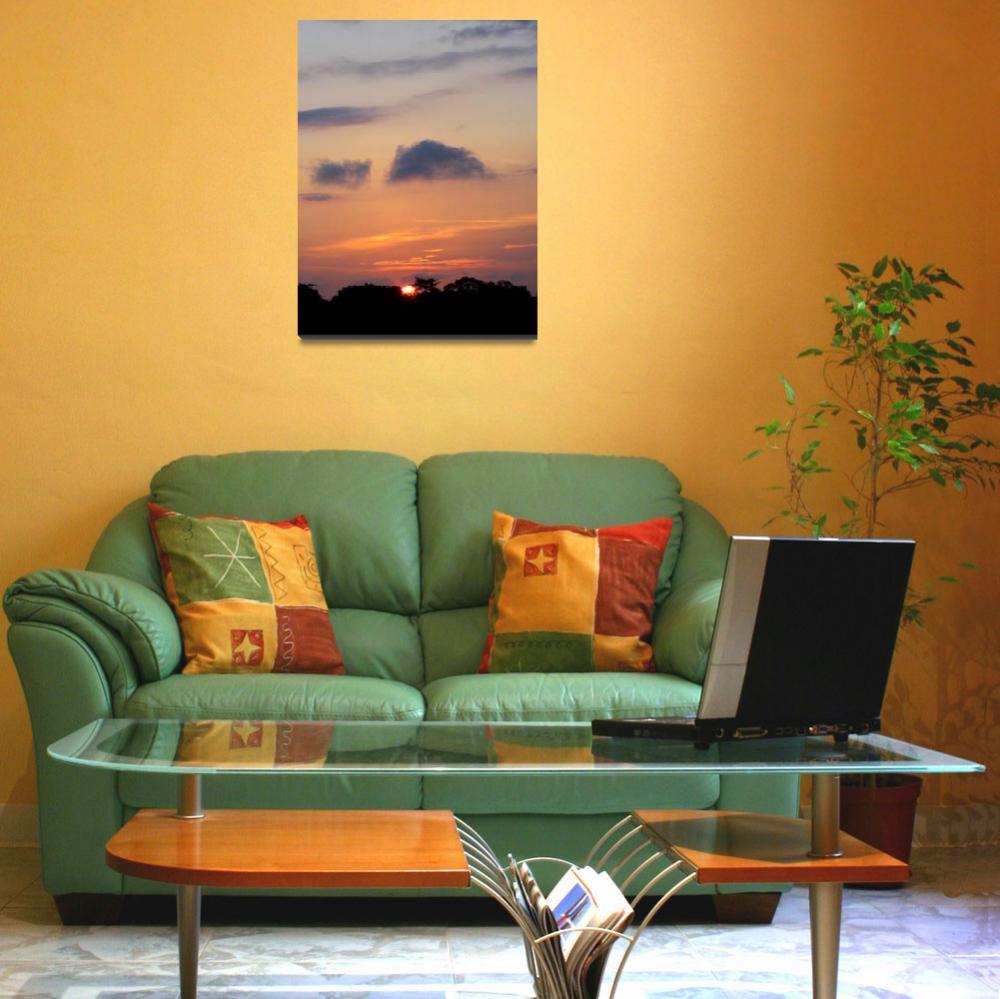 """Sunset in Ghana""  (2008) by cybergypsie"