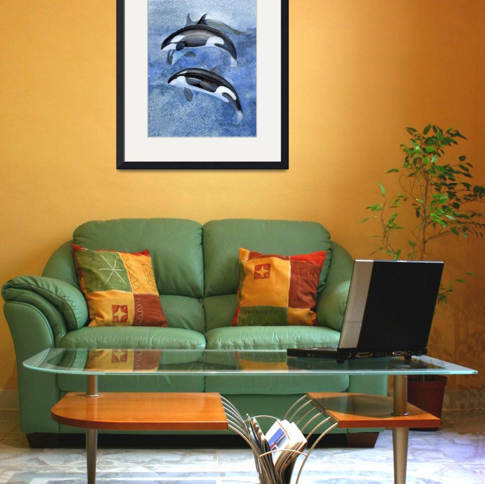 """""""orca pod&quot  (2005) by LisaMclaughlin"""