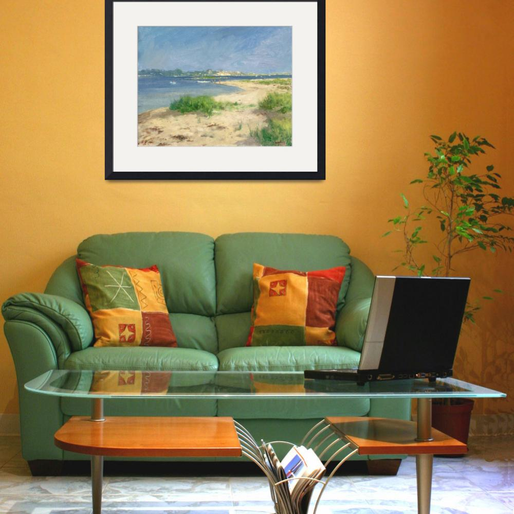 """""""View of Watch Hill From Sandy Point&quot  (2006) by blaney"""