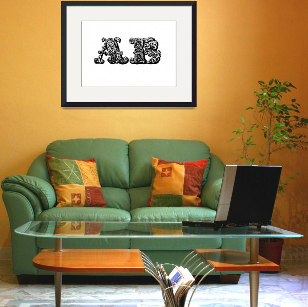 """""""ab""""  (2011) by designsbyleigha"""
