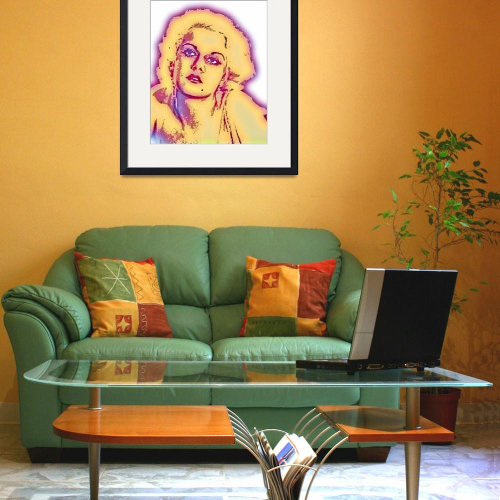 """""""JEAN HARLOW-2""""  by thegriffinpassant"""