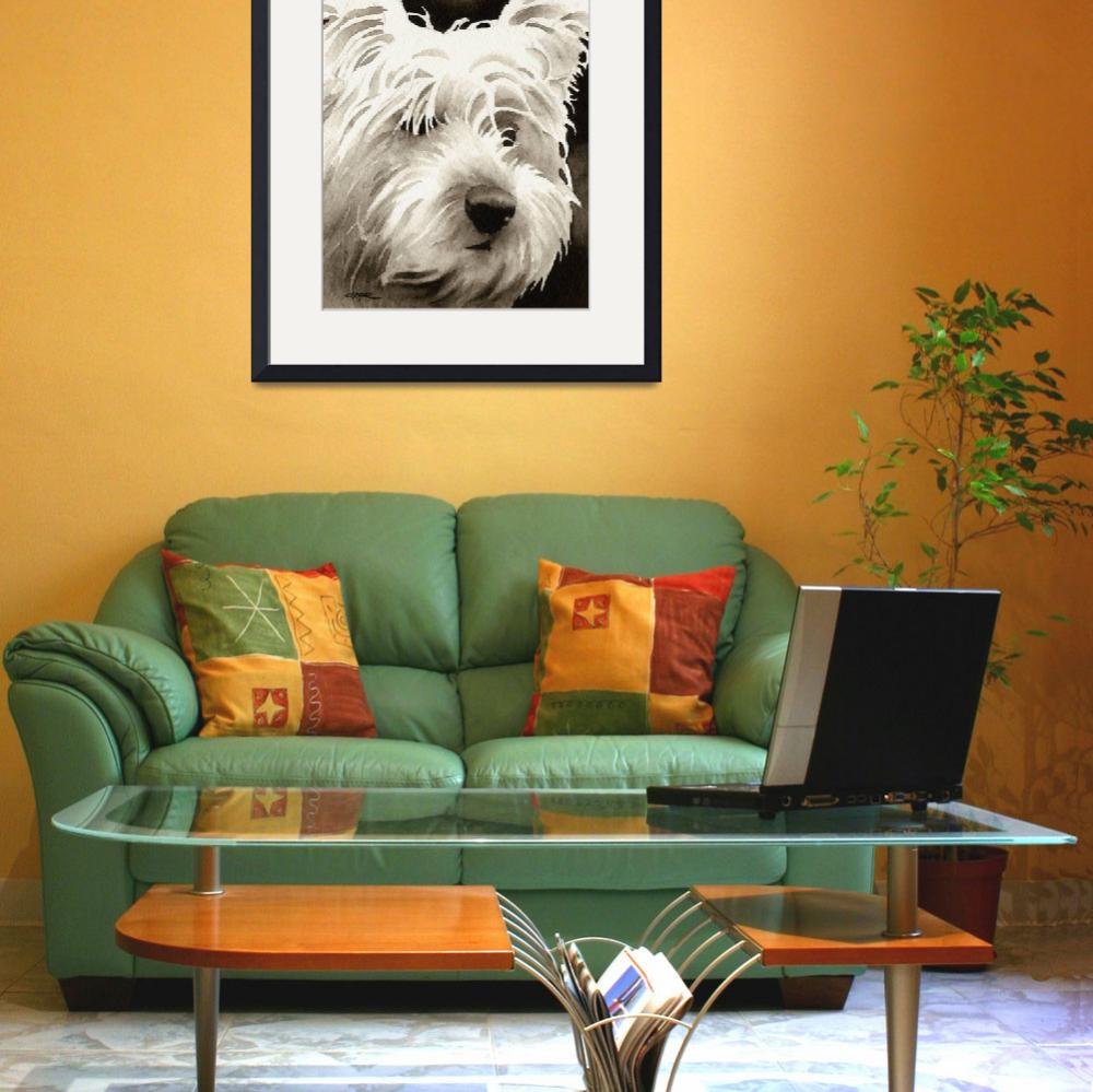"""""""West Highland Terrier&quot  (2010) by k9artgallery"""