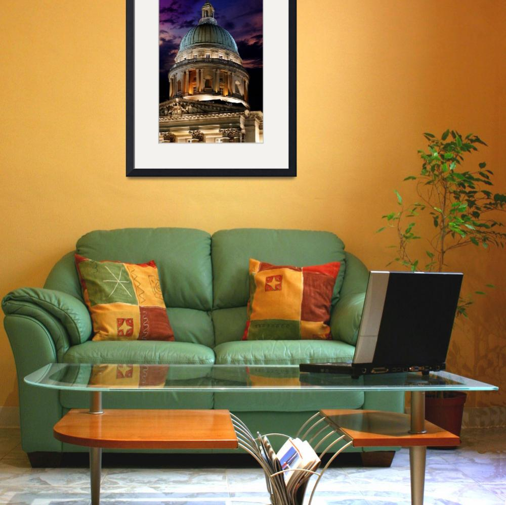 """""""The Big Copper Dome of Old Supreme Court – Singapo&quot  (2009) by williamcho"""