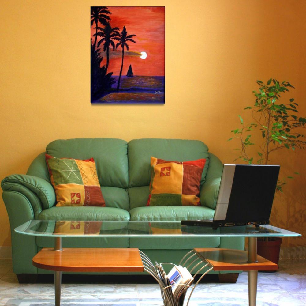 """Orange sunset""  by jt85"