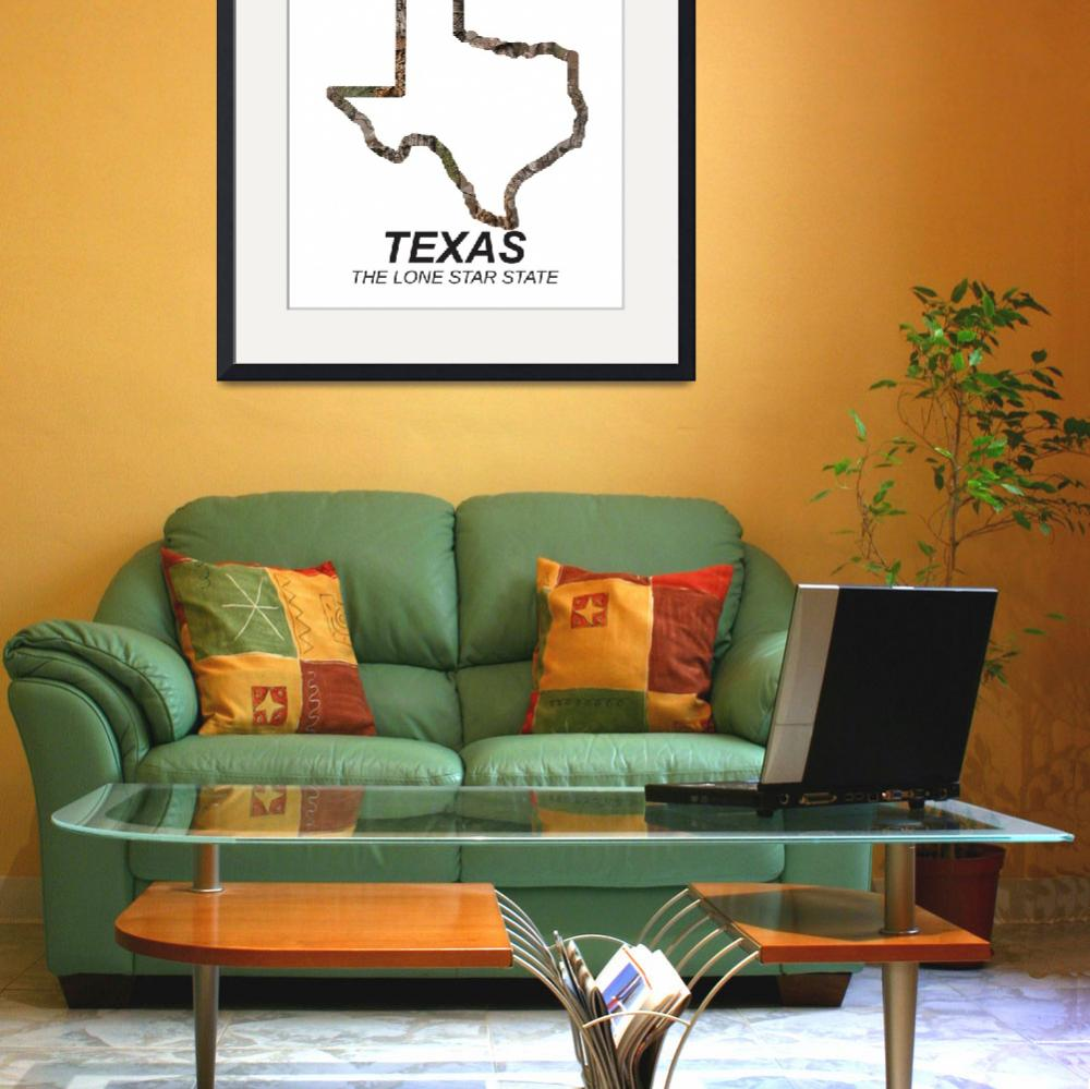 """""""Texas The lone star state&quot  by CaptureWear"""