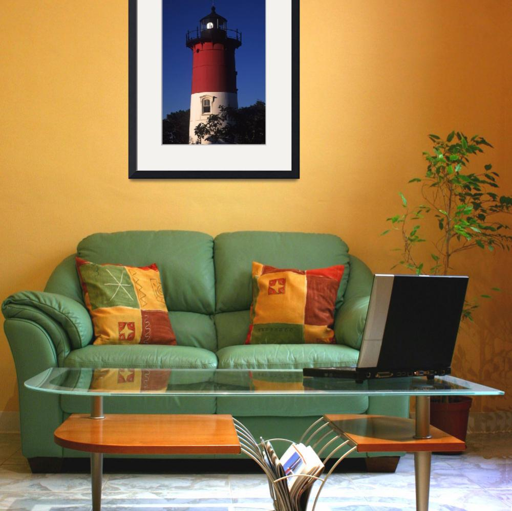 """""""Nauset Light, Eastham, Cape Cod&quot  by CapeLight"""