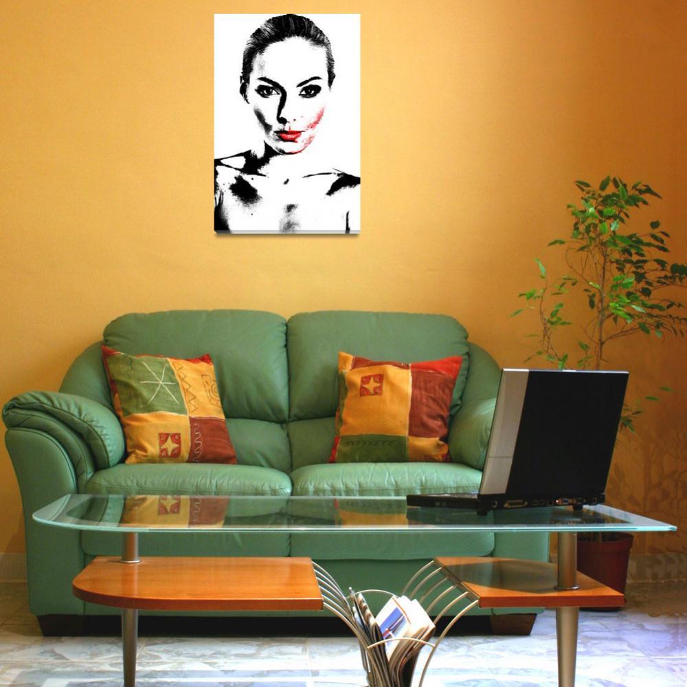 """""""Woman portrait in Art look""""  by 4u"""