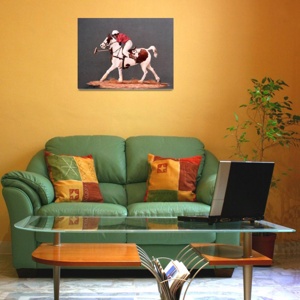 """Polo pony painting""  by AnimalsbyDiDi"