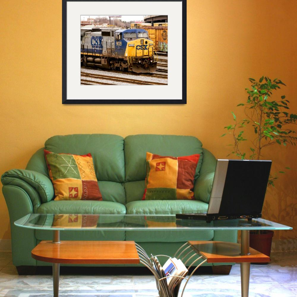 """""""csx-9029-riverside-yard-front-qtr-oly-P1250455&quot  by travel"""