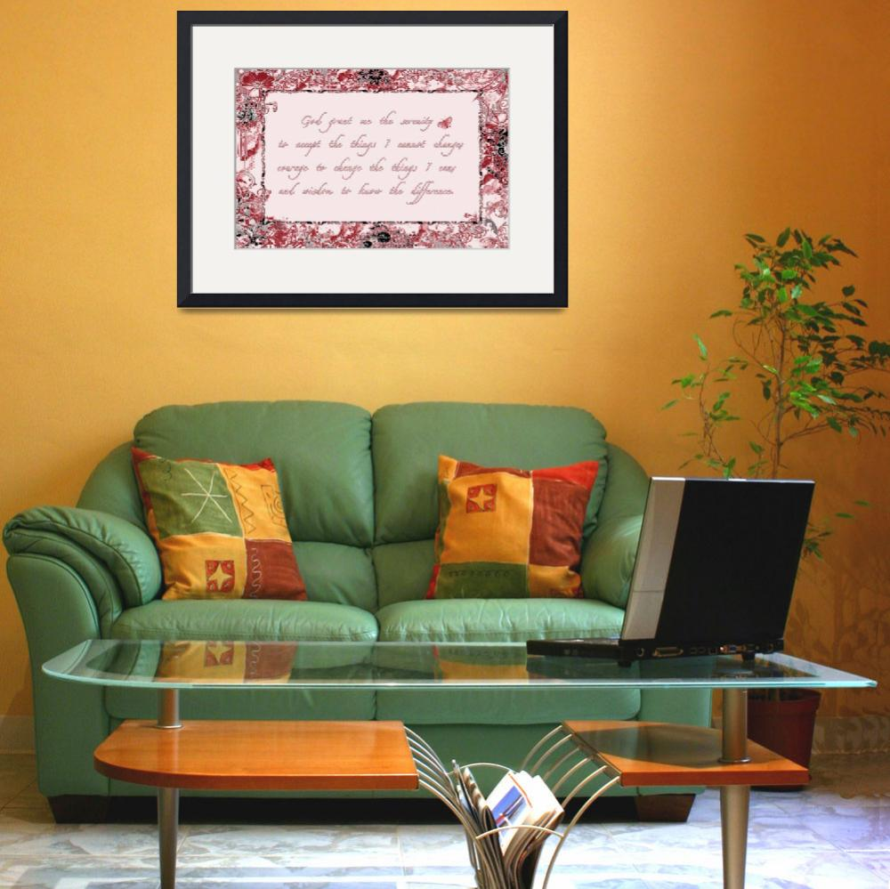 """""""serenity frame red black""""  by lizmix"""