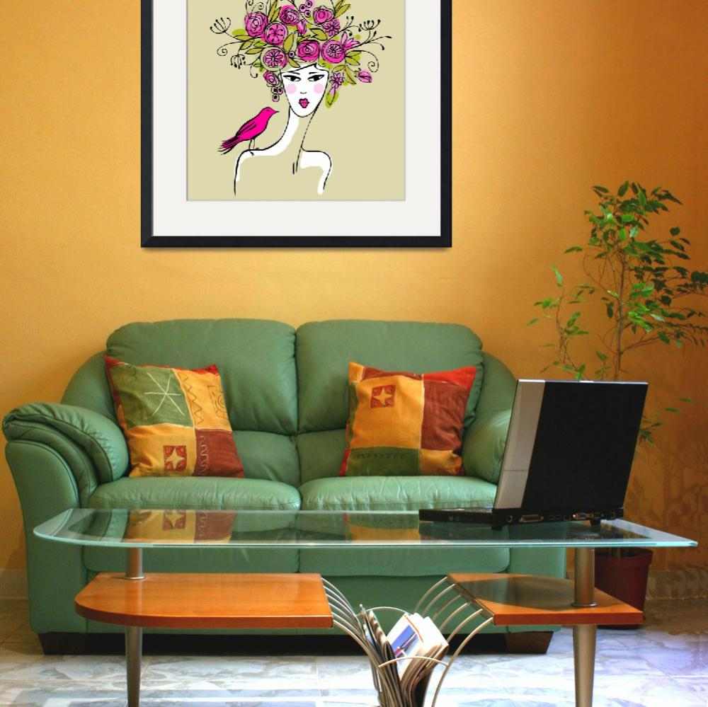 """""""Jules Art Collection Framed Print&quot  by buddakats1"""