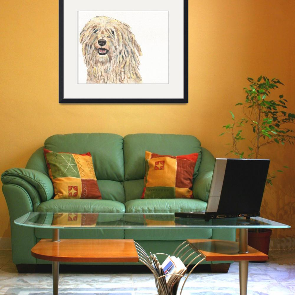 """""""Cru the Canoeing Corded Puli&quot  (2014) by Designomel"""