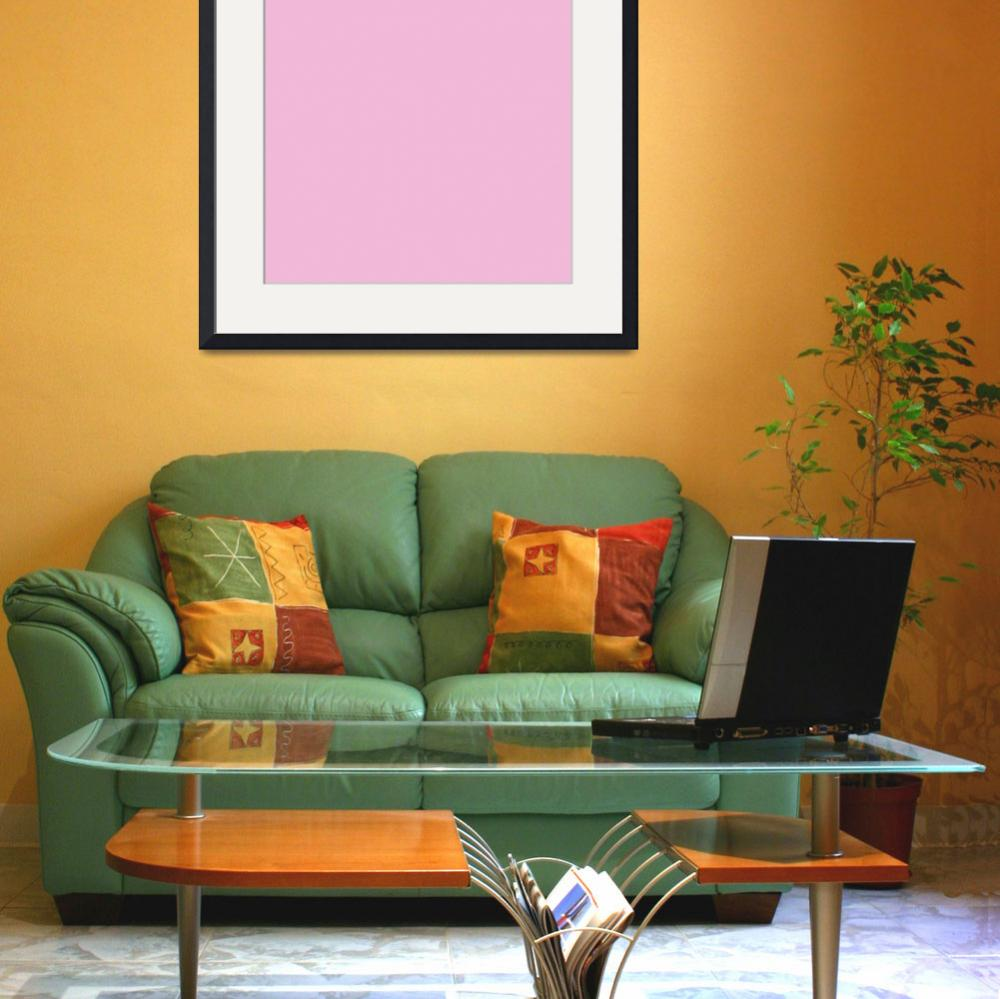 """""""Square PMS-243 HEX-F2BAD8 Pink""""  (2010) by Ricardos"""