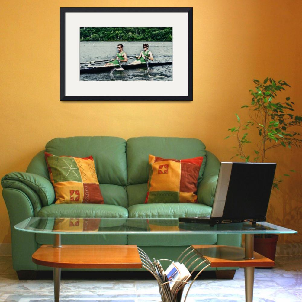 """""""Rowing Competition II&quot  (2011) by mellowone"""