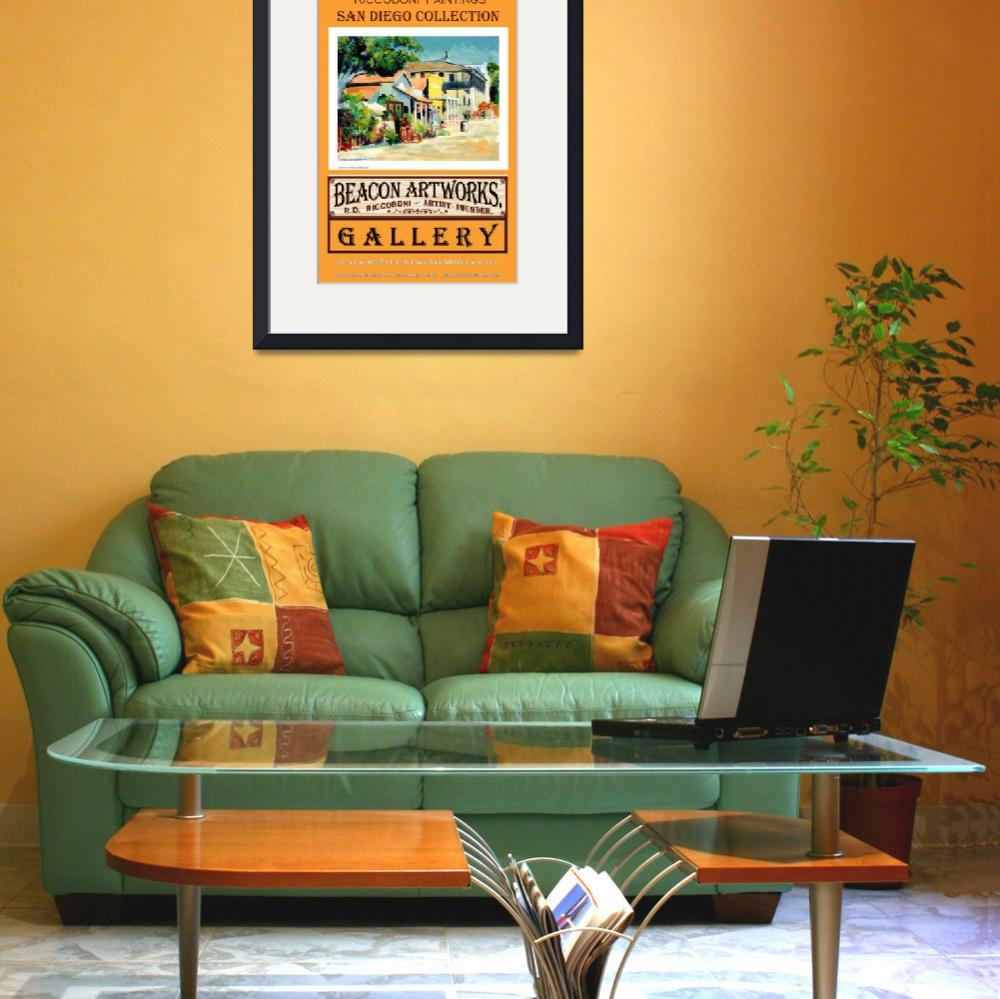 """""""Riccoboni Paintings San Diego Collection Poster&quot  (2009) by RDRiccoboni"""