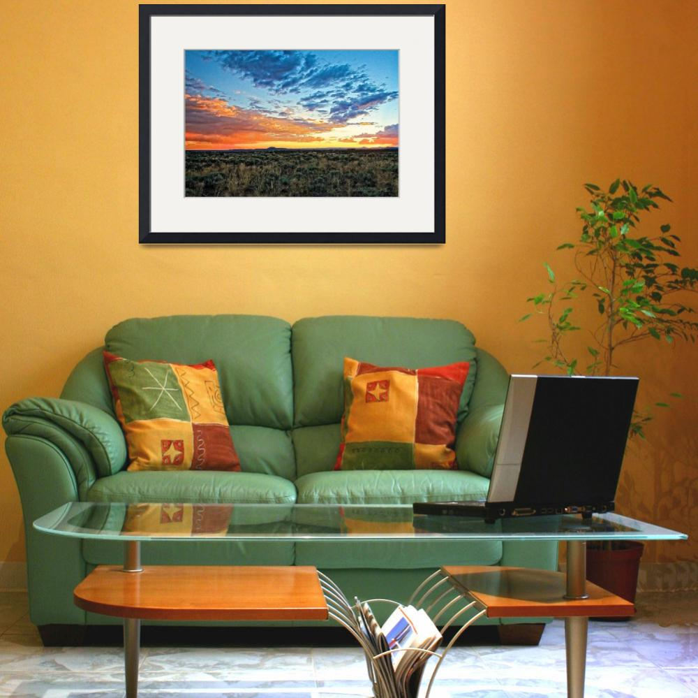 """Taos sunset July 17 2012""  (2012) by TaosFineArtPhotography"